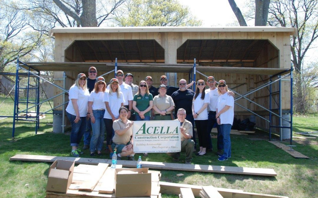 Acella Construction Managers Donate Time, Resources to Franklin Park Zoo Project