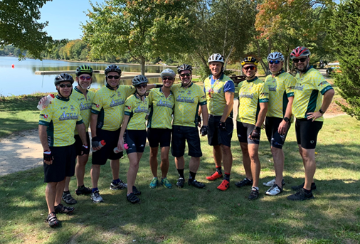 Acella Construction Team Raises Nearly $20,000 for Rodman Ride for Kids