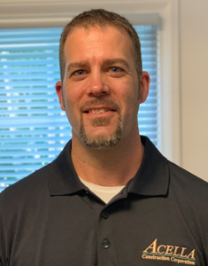 Acella Construction announces Todd Gainey as Project Manager